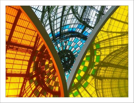 Buren voute grand palais couleurs