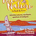Fête de la nature 2015 au lac de salagou