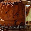 Kougelhopf aux noix et lardons