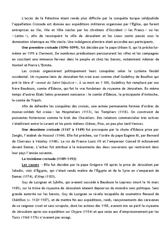 Image La troisième croisade page 1 sur 4