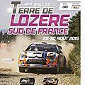 Rallye terre de lozere sud de france 2015