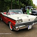 Ford fairlane 500 galaxie skyliner retractable de 1959 (9ème Classic Gala de Schwetzingen 2011) 02