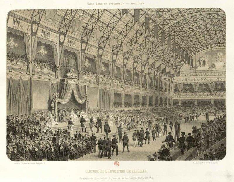 Expo 1855 récompenses
