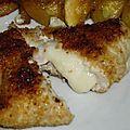 Ronde interblog n°20 : escalope de poulet panée à la mozzarella