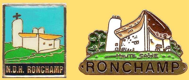 Pin's Ronchamp 2