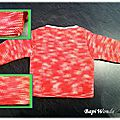 08-Pêle-Mêle Top Layette tricot de dos