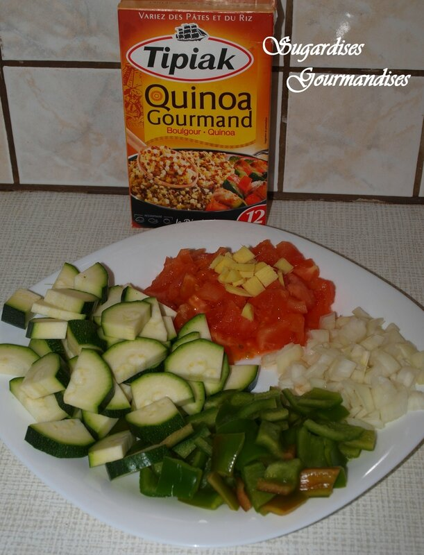 ingredient et quinoa
