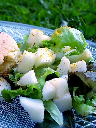 Salade_pomme_curry