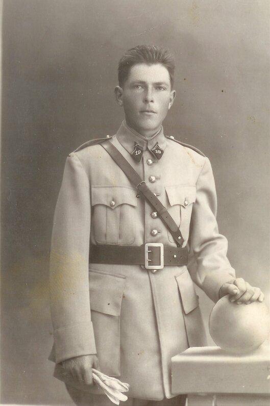 1930 Yves Marie Queffelec militaire