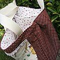 Nouvelle réalisations de sacs en tissus yuwa