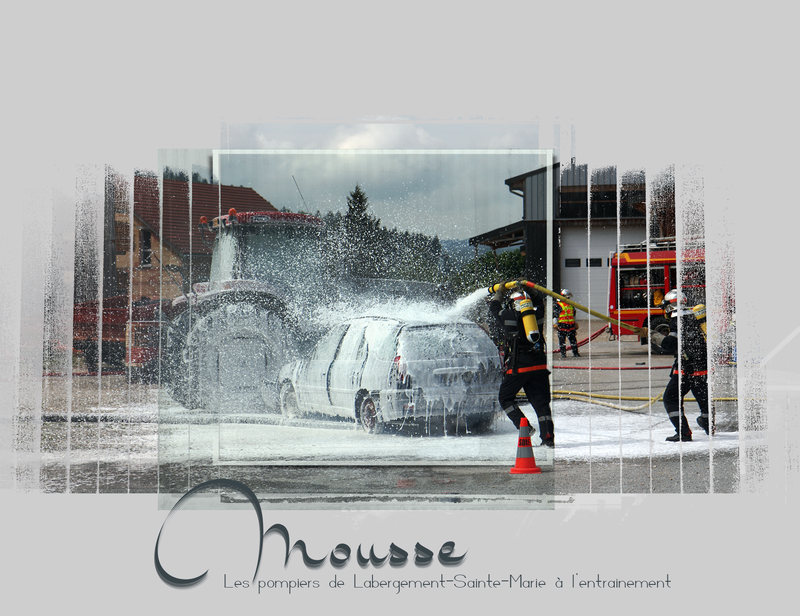 pompiers-mousse carbonique