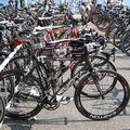 Le parc à vélo