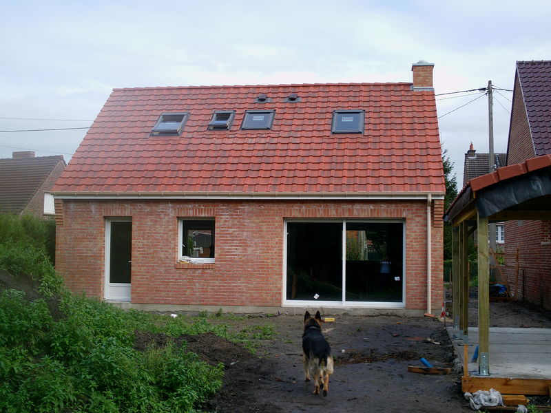 construction de ma maison dans le nord par maison castor. Black Bedroom Furniture Sets. Home Design Ideas