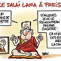 ps hollande humour daila lama chine
