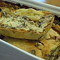 Pâté en croûte au poulet et aux champignons de Syldum