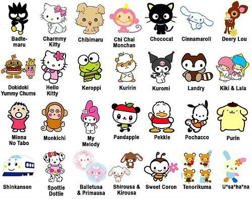 Sanrio dream 39 s hayu kawai - Cute asian cartoon wallpaper ...