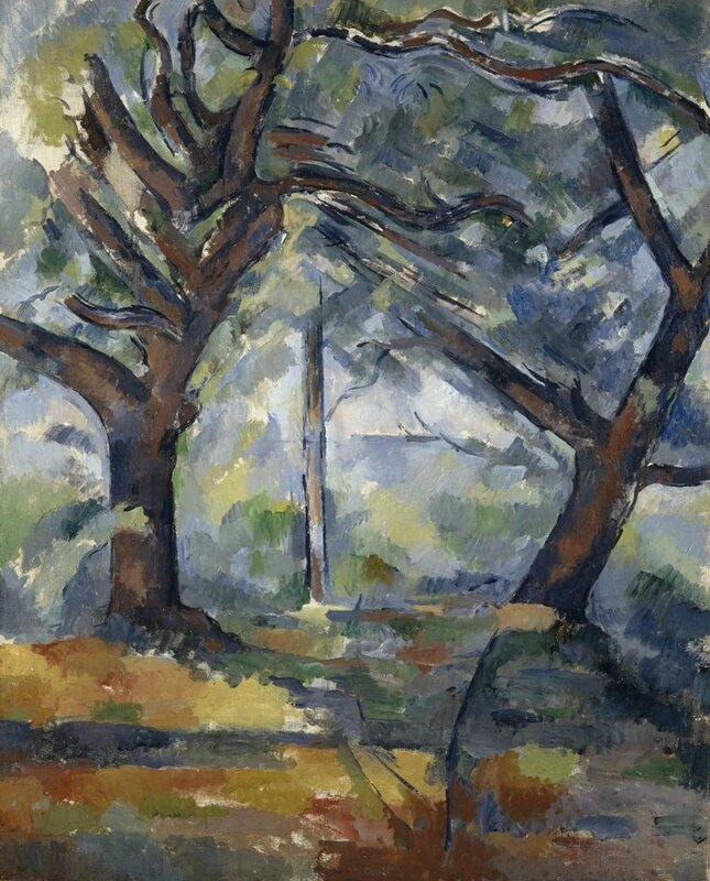 Paul Cézanne, The Big Trees, about 1902 - 1904