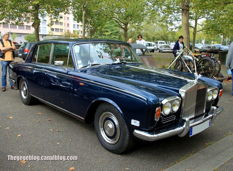 Rolls-Royces silver shadow (1965-1977)(Retrorencard septembre 2013) 01