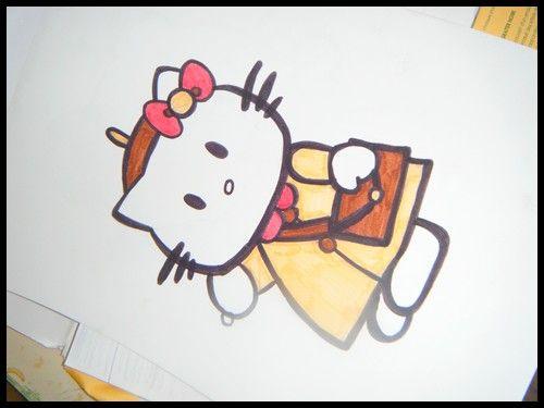Dessin Hello Kitty .