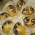 Les oeufs d or البيضة الذهبية حلويات جزائرية