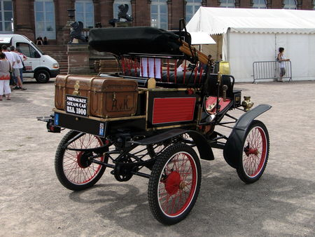 MILWAUKEE Stanhope Steam Car (Vapeur) 1900 Rohan Locomotion de Saverne 2010 2