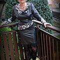 Défi couture : la petite robe noire reine des fêtes