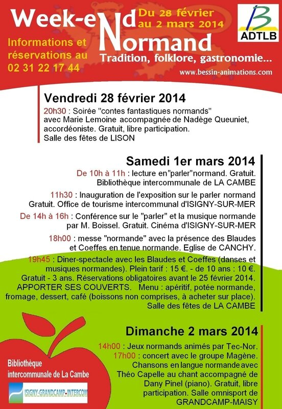 affiche weekend normand2