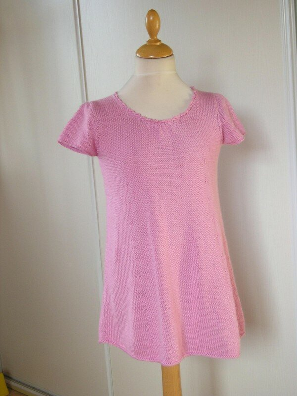 robe-tunique rose