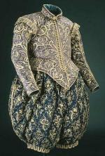 Pourpoint et culotte bouffante du roi de Suède vers 1620