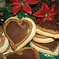 Chokolade makronen herzen