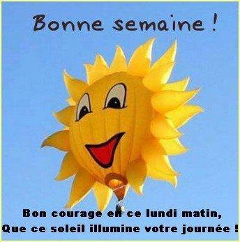 bon lundi soleil