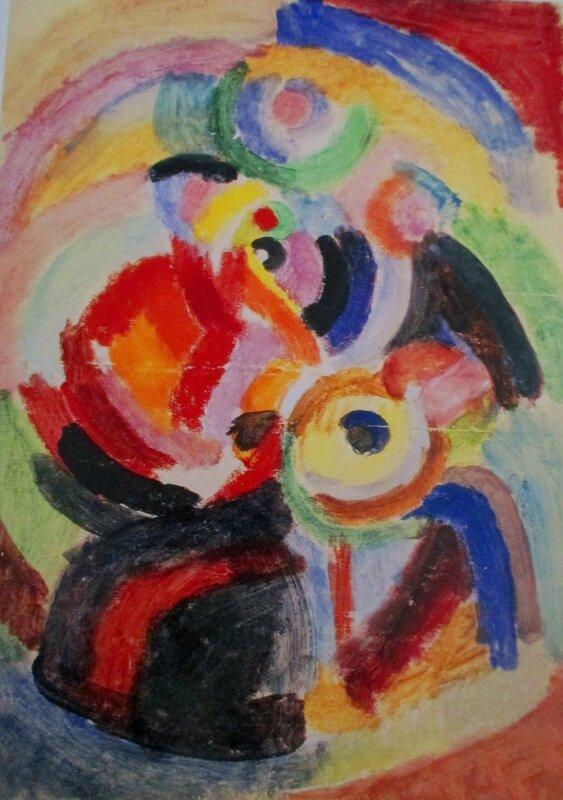 Chanteurs de flamenco 1915 S- Delaunay