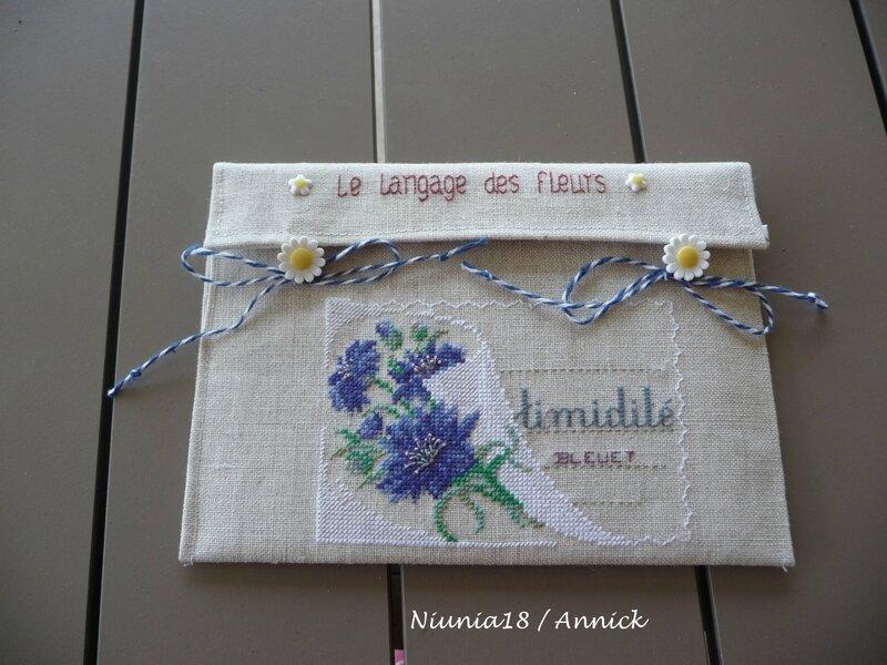 Enveloppe Langage des fleurs (4)