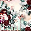 Defining moment - Template by Ilonkas Scrapbook Designs