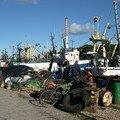 1ere ville de Lettonie : Liepaja et son petit port de peche