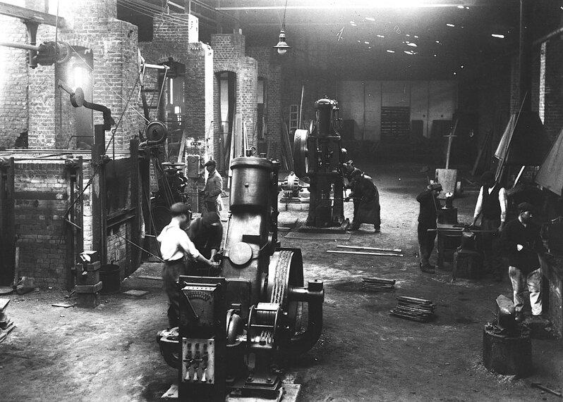 ANOR-Les Forges d'Anor en 1928