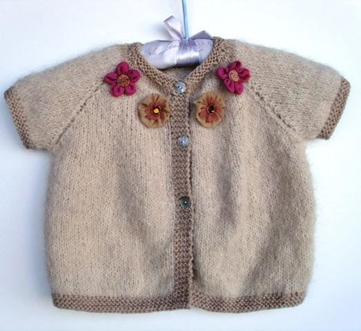 modele tricot layette 6 mois