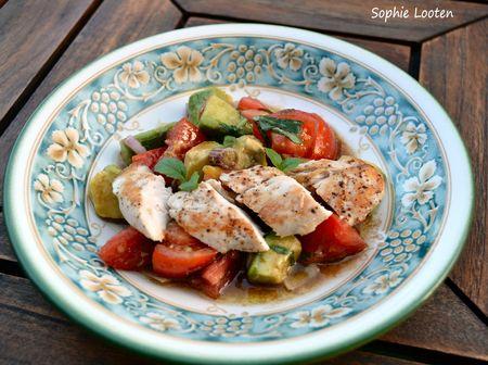 Salade de poulet2
