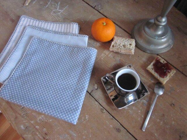 Serviettes de table DENTELLE (fiche couture)