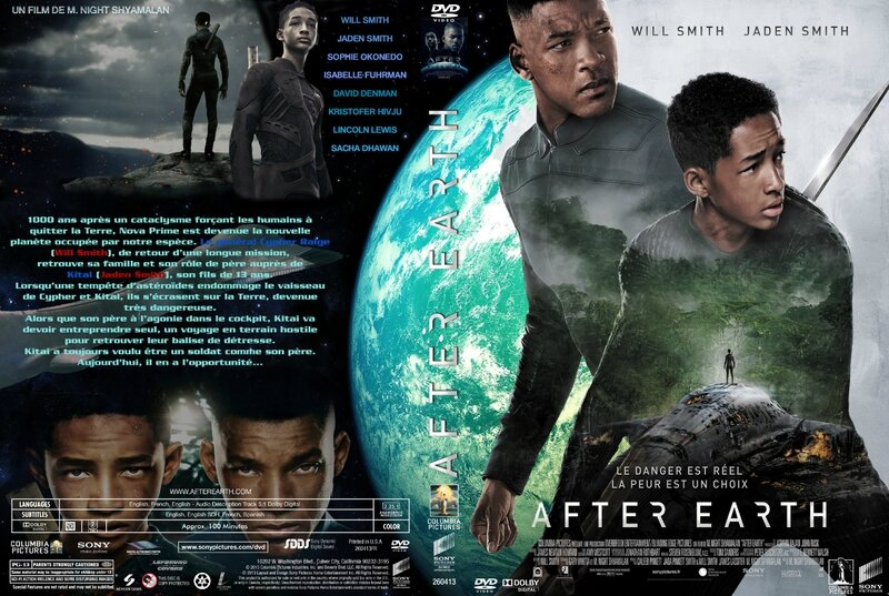 Jaquette AFTER EARTH (2013)