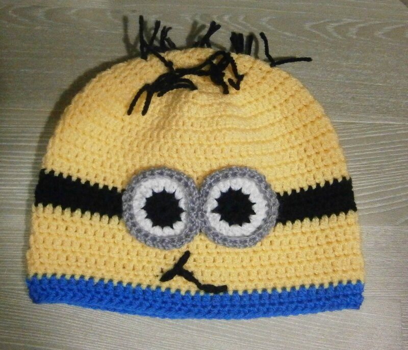 bonnet minion 001