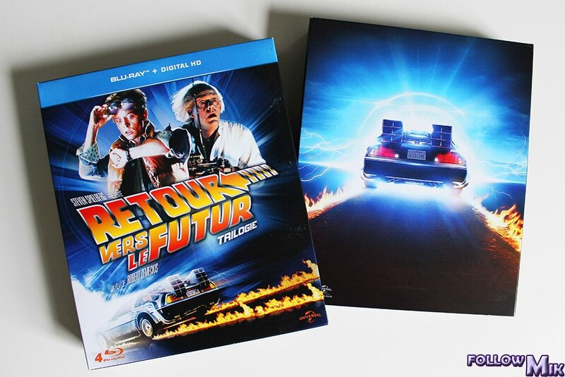 Retour Vers Le Futur Blu-ray