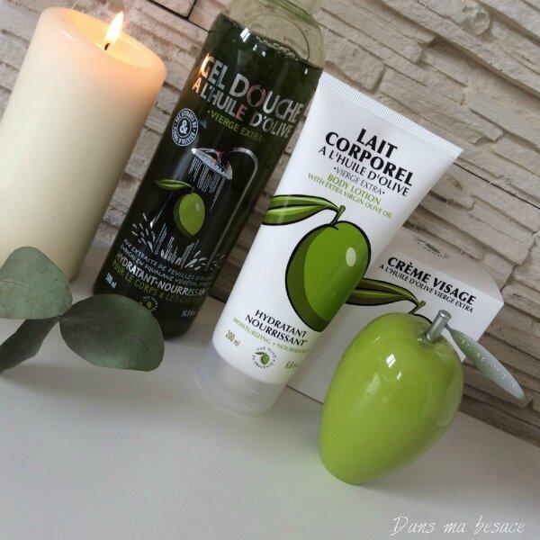 DansmaBesace - gamme produits Une olive en Provence