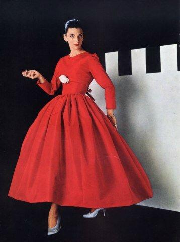 Balenciaga 1955 Evening Dress