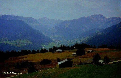 674) Montée à vélo au col des Saisies (Savoie)
