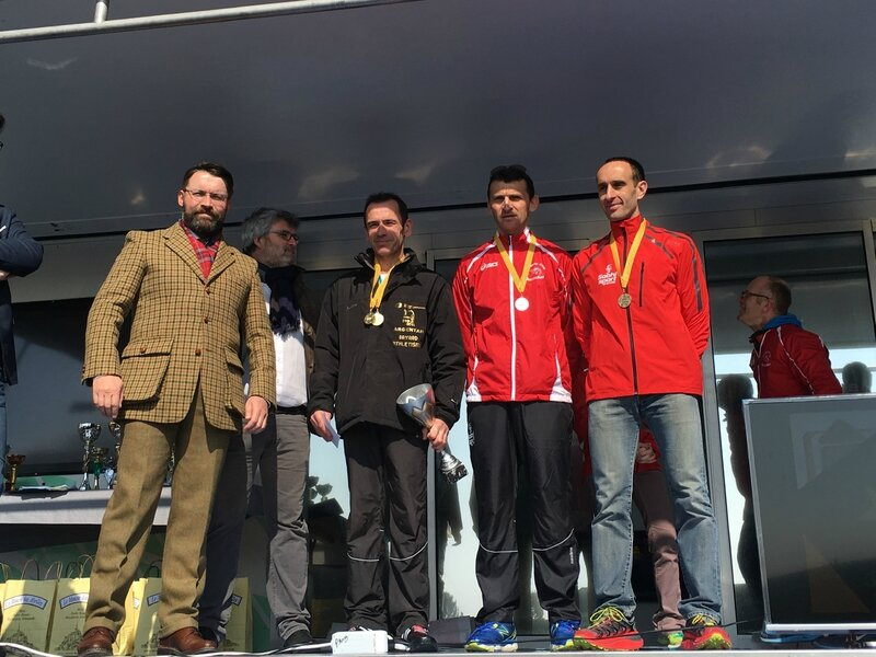 Athletic Club Avranches podium course 2016 10km hommes