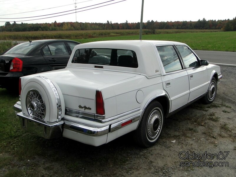 Chrysler new yorker landau 1988 1990 oldiesfan67 mon for 1990 chrysler new yorker salon