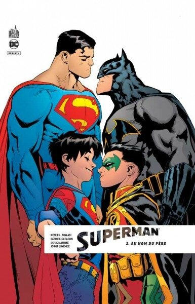 superman rebirth 02 au nom du père