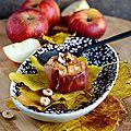 Pommes poires au caramel