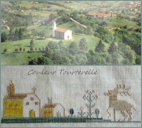 Mother's sampler 1799 Couleur Tourterelle 2-3